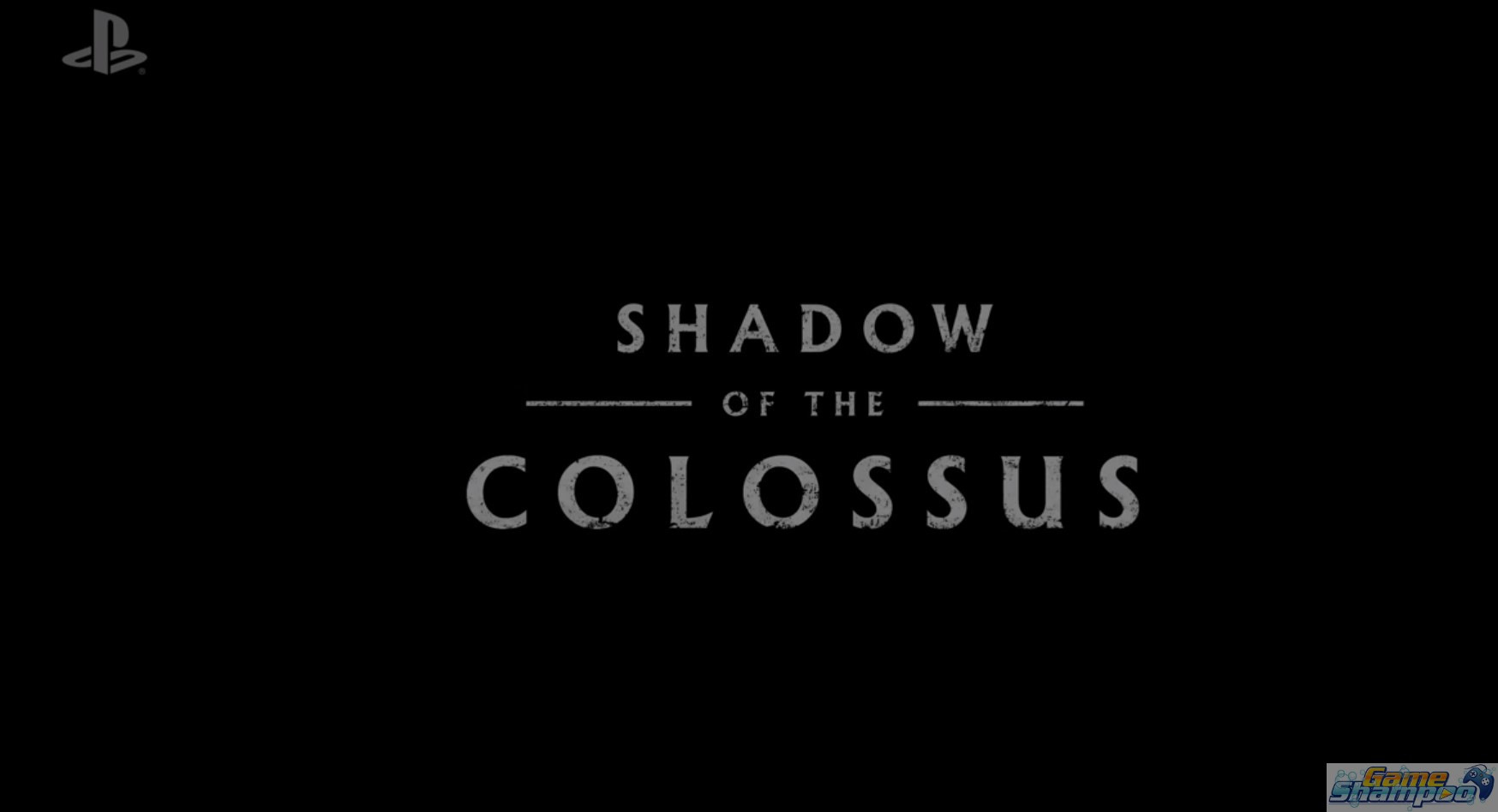 Sony E3 2017 Shadow of the Colossus