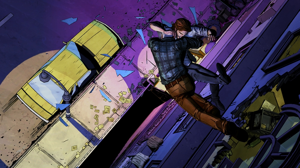The Wolf Among Us starts off with a bang, literally