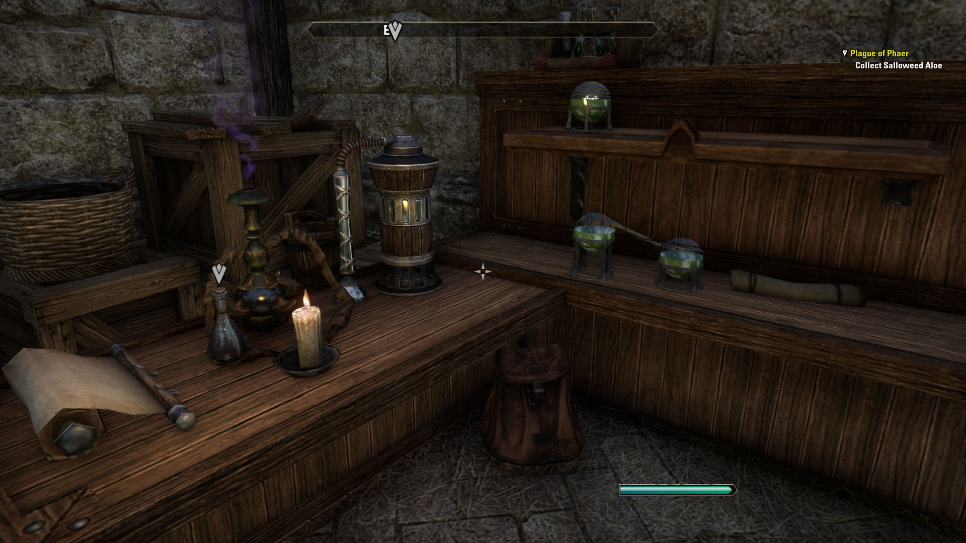 Crafting and alchemy work much like they do in Skyrim