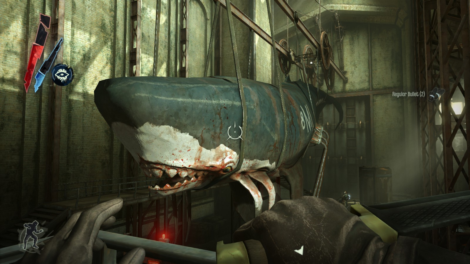 Grab the whale's eye to complete the recipe - Dishonored The Knife of Dunwall DLC
