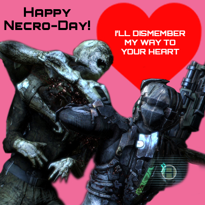 Dead Space 3 wishes you a Happy Valentine's Day