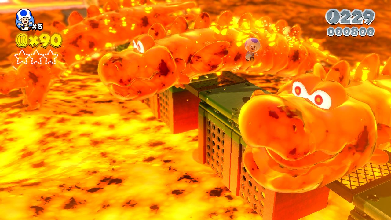 Super Mario 3D World is beautiful even by other console standards